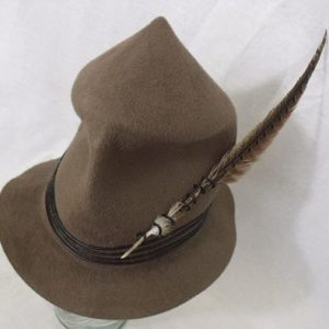 Fur Felt High Hat