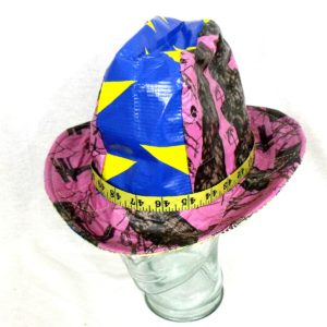 Duct tape fedora tape measure